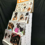THE DOG 2021 CALENDAR 販売什器